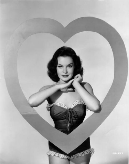 Happy Valentine's Day from Dorothy Hart, 1940s.
