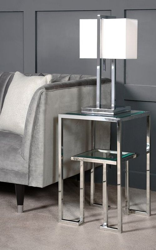 Anta Silver Side Table In 2020 Silver Side Table Table Decor Living Room Living Room Side Table #silver #tables #for #living #room