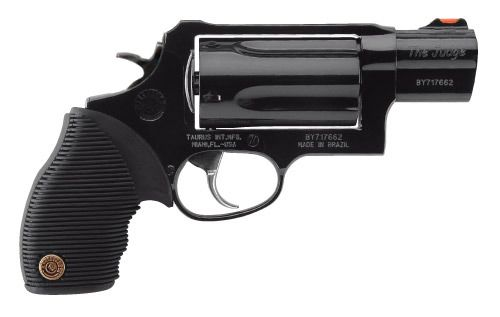 Taurus Judge Public Defender (this will be my next gun, only w/ a pink grip & stainless steel in color)