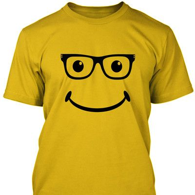 funny geek smiley face t shirt funny t shirts