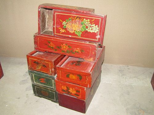 Antique Chinese Boxes