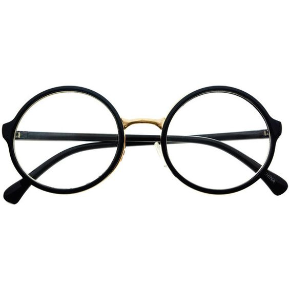 Clear Lens Retro Vintage Style Round Eyeglasses Frames R1001 freyrs (16 BRL) ❤ liked on Polyvore featuring accessories, eyewear, eyeglasses, glasses, sunglasses, fillers, round metal glasses, tortoise shell glasses, retro eyeglasses and clear eye glasses