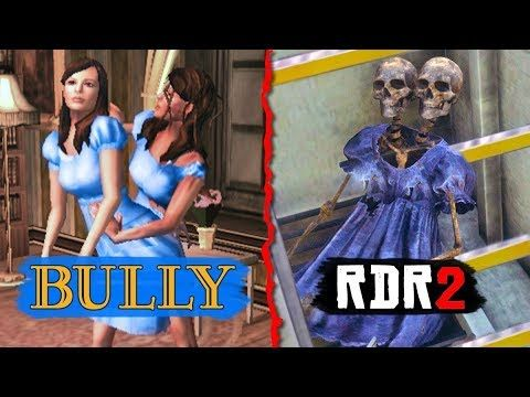 Bully Easter Eggs In Red Dead Redemption 2 Rdr2 Easter Eggs Bully