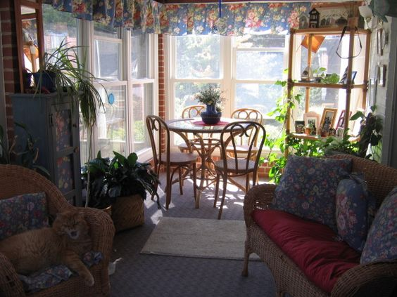 porch decorating on a budget sunroom on a budget this enclosed