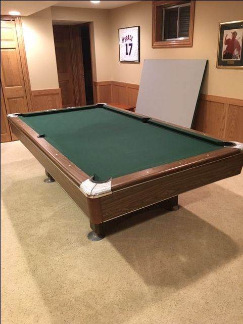 Minnesota Fats Billiards Pool Table 8'