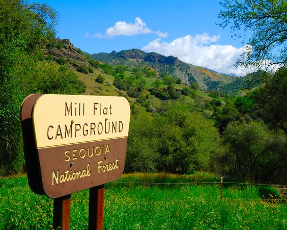 Mill Flat Campground...camping near fresno