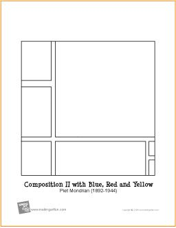 Mondrian Composition and Free