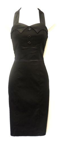 Robe Fourreau Style Vintage Années 50 Rockabilly Usage Bureau Affaires | eBay