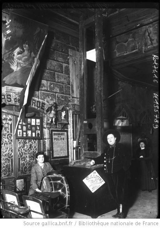 Bruyant Alexandre et sa guillotine : [photographie de presse] / [Agence Rol]