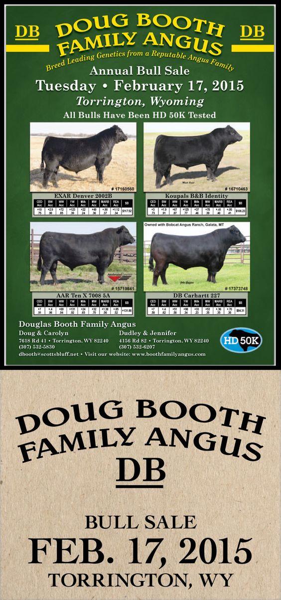 Doug Booth Family Angus - Annual Bull Sale - Feb. 17, 2015