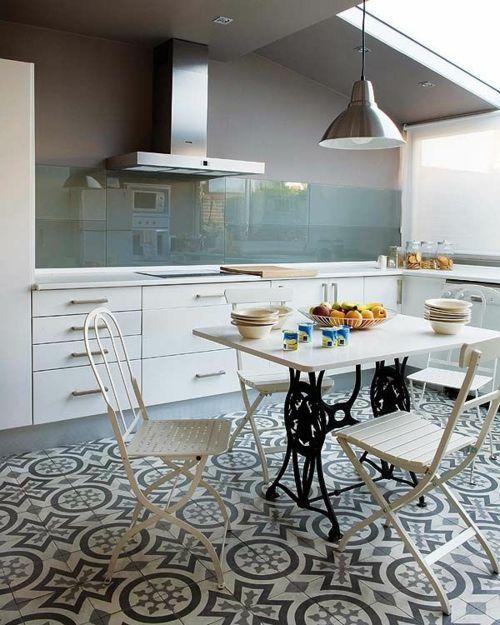 Wohnideen für Küche Glasrückwand glanzvoll farben leuchtend - wandpaneele küche glas