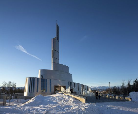 The Cathedral of the Northern Light is pretty gutsy and I love it.