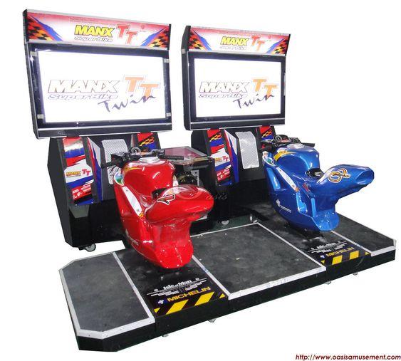 racing arcade machine