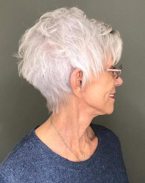 The Best Hairstyles And Haircuts For Women Over 70 Haarschnitt Haarschnitt Frauen Coole Frisuren