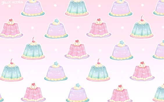 "jelly-ultra: ""Created a pattern using my jellies 。^‿^。 """
