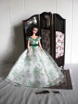 1:6 scale Bespaq boudoir screen, for Barbie! on Ebay auction now!