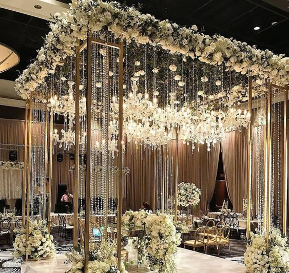 Unique Mehendi Backdrop Decor Ideas To Steal For Your Wedding