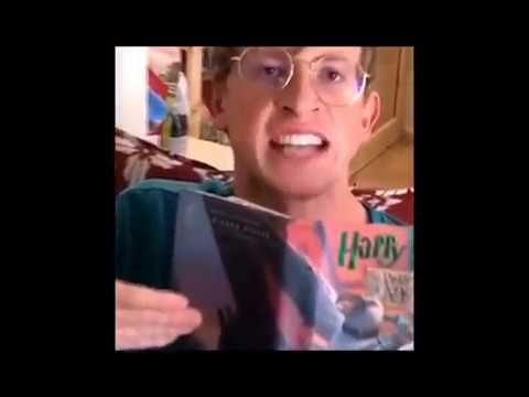 I M Reading Harry Potter What Do You Want Vine Youtube John Laurens Harry Potter Youtube