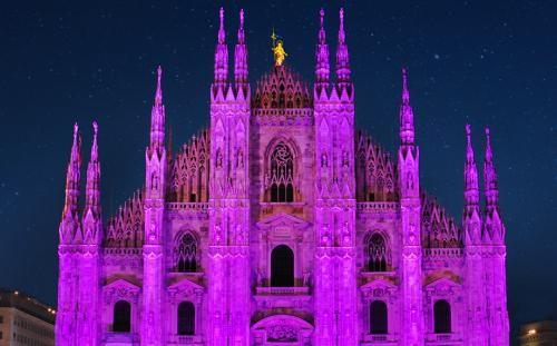Moda: Il #Duomo in #rosa per la salute del seno (link: http://ift.tt/2dofvAs )