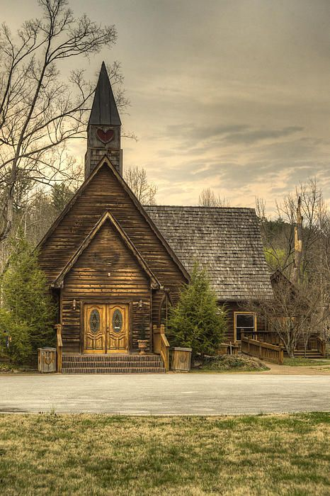 Smokey Mountain Love Chapel 2 Photograph by Douglas Barnett - Smokey Mountain Love Chapel 2 Fine Art Prints and Posters for Sale