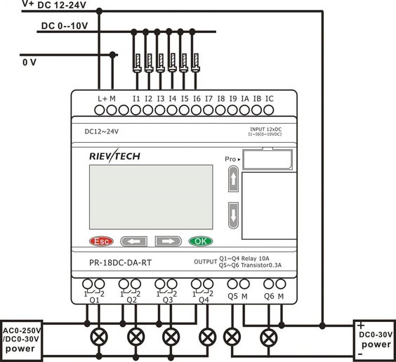 Awesome Idec Relay Wiring Diagram Di 2020