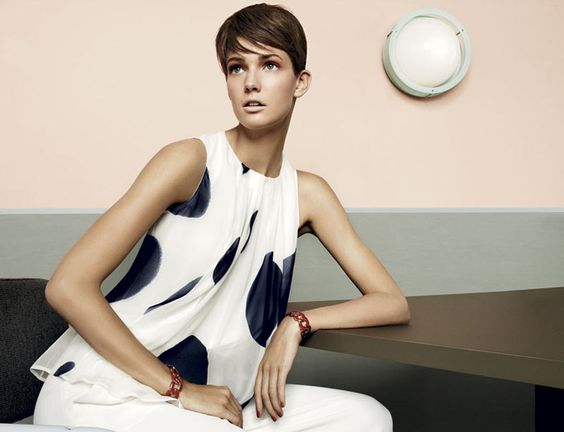 Toni Garrn, Kendra Spears and Juju Ivanyuk Are Retro Chic for Max Mara Studio Spring 2013 Campaign