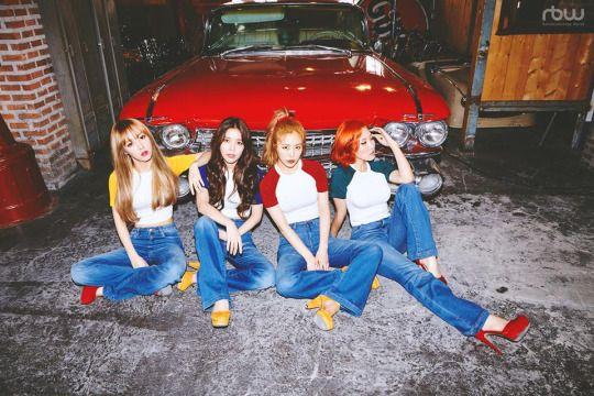 Mamamoo- New girl crush group!!