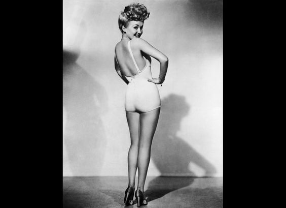 Betty Grable. Classic.