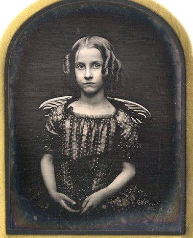 Daguerreotype Photograph, English / Manchester, 1853, ID'd Isabel Temple Eastall: