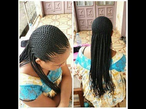 Pretty Cornrow Braids Styles Ladies Cornrows Hairstyles Youtube Cornrow Braid Styles Hair Styles Cornrow Hairstyles