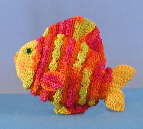 Fishbone Crochet Pattern Free : Tansy the Fish: free pattern by Sue Pendleton Crazy Cool ...