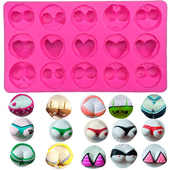 Various Forms of Sexy Bikini Silicone Mold