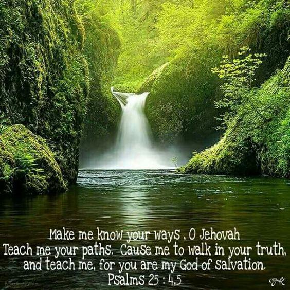 Teach me Jehovah