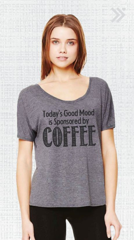 S-XXL Todays Good Mood Is Sponsored By Coffee by everfitte