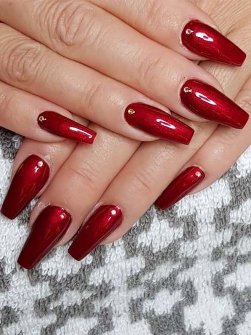 You May Easily Find Here Our Best Red Nail Arts And Designs To