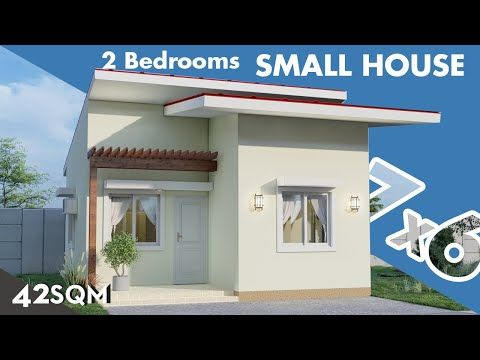Small House 150k Budget 7 X 6 Meters In Mediterranean Style Youtube In 2020 Model House Plan Small House Small House Design