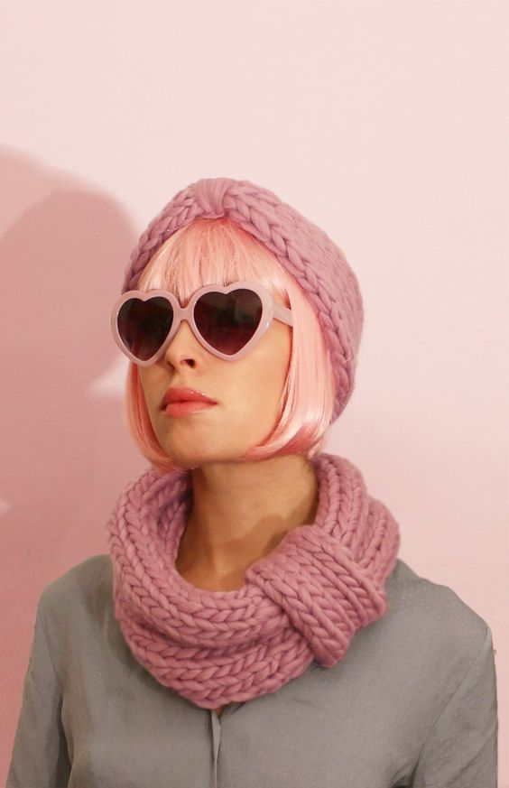 Blueberry Muffin Snood and Headband - Buy Wool, Needles & Yarn Mützen - Buy Wool, Needles & Yarn Stricksets | WE ARE KNITTERS