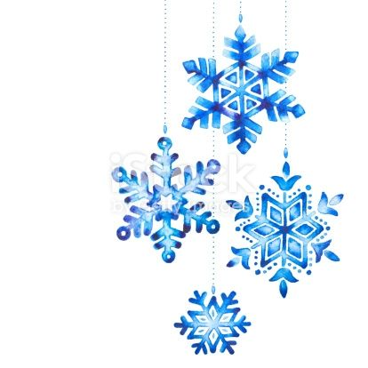 Watercolor Painting Of A Snowflakes As Christmas Decorations Cartes Aquarelle De Noel Flocon De Neige Dessin Flocon De Neige Dessin Facile
