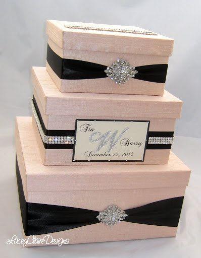 Wedding Gift Box Rental : Gift Card Box Ideas For Wedding wedding gift box, bling card box ...