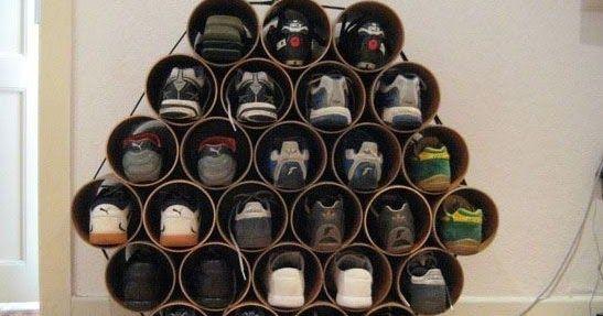 El Lugar Para Ayudar A Todo El Mundo A Aprender Cómo Hacer Cualquier Cosa únete Materiales Reciclados Como Organizar Organización Del Guardarropas