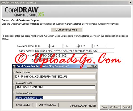 serial number for corel draw 12 installation