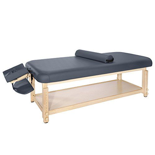 Master Massage 30 Laguna Stationary Massage Table Navy Blue For Sale Https Charcoalandcoconut Com Pro Massage Table Massage Room Design Massage Room Decor