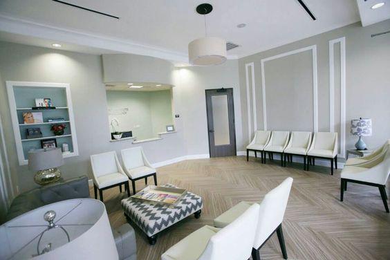 Houston Institute of Dermatology waiting room.