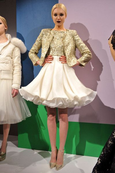 Alice + Olivia Fall 2012. Tea Party, anyone?