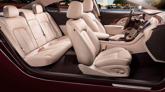2016 Buick Lacrosse full-size luxury sedan interior seating