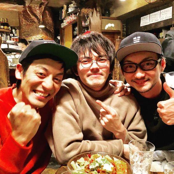 林遣都さんと波岡一喜さんと村田さん