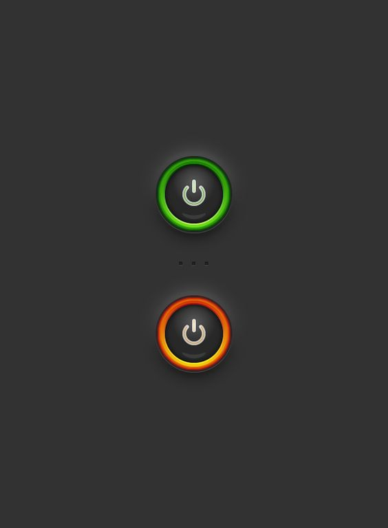Create a siple power button in Adobe Illustrator | Photoshop ...