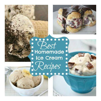 Best homemade ice cream homemade ice cream and ice cream recipes on