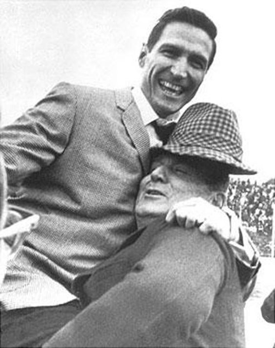 Gene Stallings and Bear Bryant, 1968 Cotton Bowl