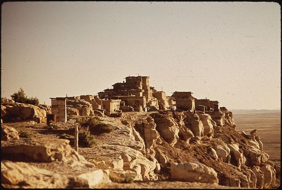The Hopi Village of Wolpi Hopiis a concept deeply rooted in the culture's religion, spirituality, and its view of morality and ethics. To be Hopi is to strive toward this concept, which involves a state of total reverence and respect for all things, to be at peace with these things, and to live in accordance with the instructions ofMaasaw, the Creator or Caretaker of Earth. The Hopi observe their traditional ceremonies for the benefit of the entire world.